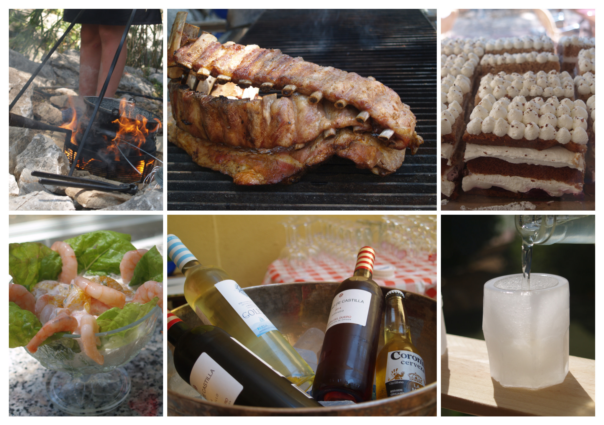 Collage Barbecue 1